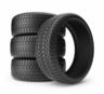 image of liquidation wholesale black tires