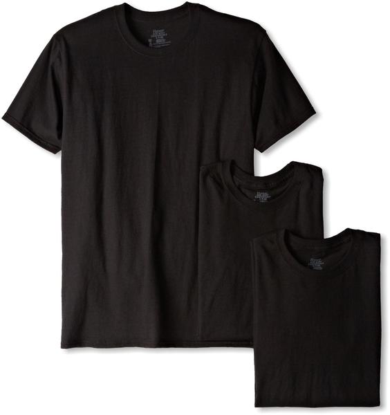 image of wholesale black tshirt