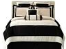 image of wholesale black white comforter