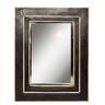image of liquidation wholesale black wooden mirror