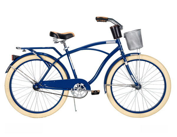 image of liquidation wholesale blue beige girls bike