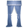image of wholesale closeout blue blinds