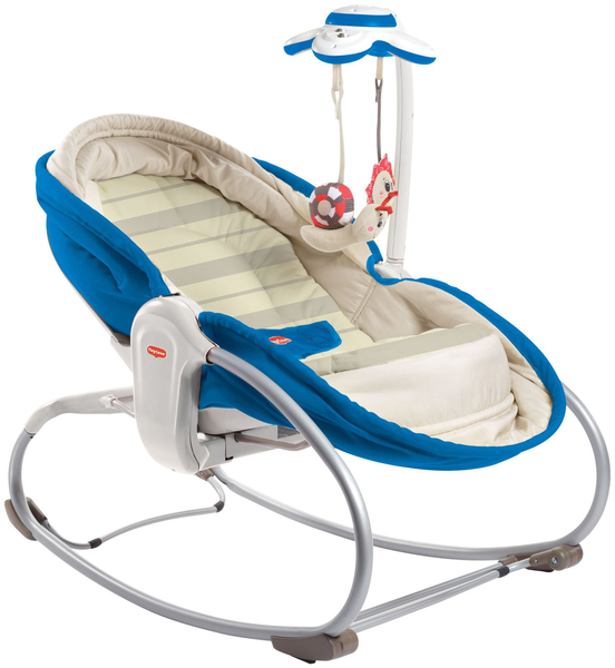 image of wholesale closeout blue bouncer