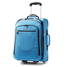 image of wholesale closeout blue carry on luggage