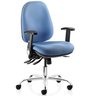 image of wholesale closeout blue computer chair