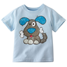 image of wholesale blue dog childrens shirt