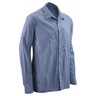 image of wholesale blue long sleeve button down