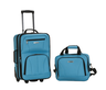 image of wholesale closeout blue luggage