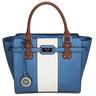 image of wholesale closeout blue versace italia handbag