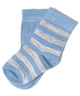 image of wholesale blue white baby socks