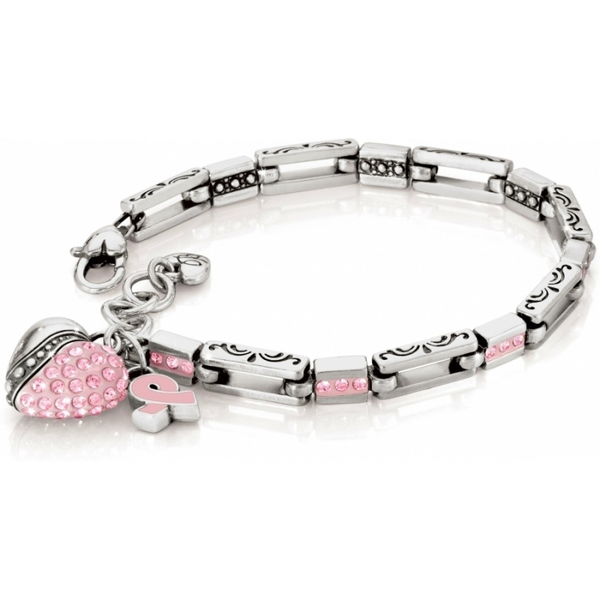image of wholesale closeout breast cancer bracelet