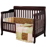 wholesale closeout brown baby crib convertible
