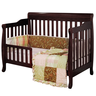 image of wholesale brown baby crib convertible