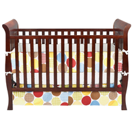 discount wholesale brown baby crib