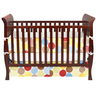 image of wholesale brown baby crib