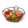 image of wholesale closeout brown fruit bowl