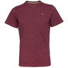 image of wholesale burgundy mens t shirt