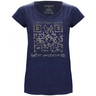 image of wholesale calvin klein womens t shirt navy blue
