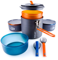 closeout wholesale camp fire cook set
