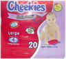 image of wholesale closeout cheekies diapers