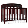 image of wholesale closeout cherry wood crib