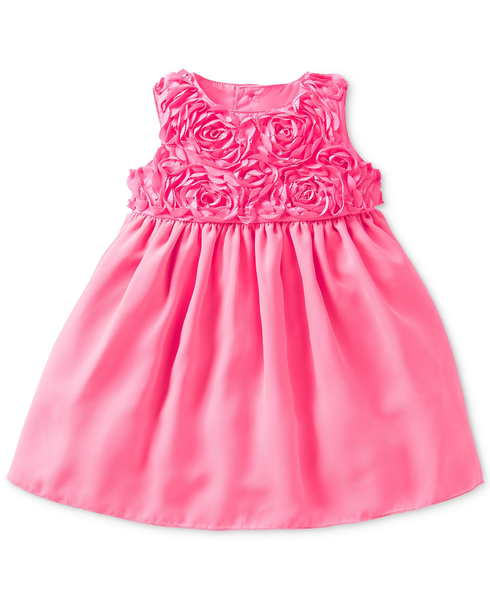 image of wholesale closeout child pink dress