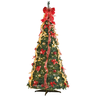 image of wholesale christmas trees decorated