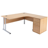 image of wholesale closeout classic radial work desk