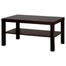 image of wholesale closeout coffee table brown