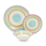 wholesale closeout colorful dinnerware