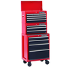 image of wholesale closeout craftsmans tall storage cart