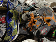 salvage new and return wholesale credential sneakers