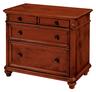 image of wholesale closeout dark brown dresser