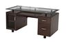 image of wholesale dark brown executive desk