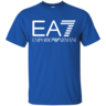 image of wholesale closeout emporio armani blue t shirt