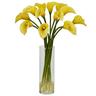 image of wholesale closeout fake flower vase