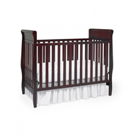 wholesale closeout fancy brown baby crib
