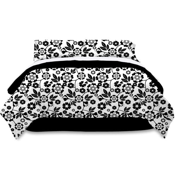 image of wholesale closeout floral comforter