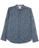 image of wholesale closeout floral print mens shirt