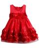 image of wholesale closeout flower applique dress