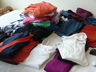 image of wholesale closeout folded clothes