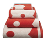 image of wholesale giant flower towel stack