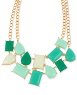 closeout wholesale green bead necklace