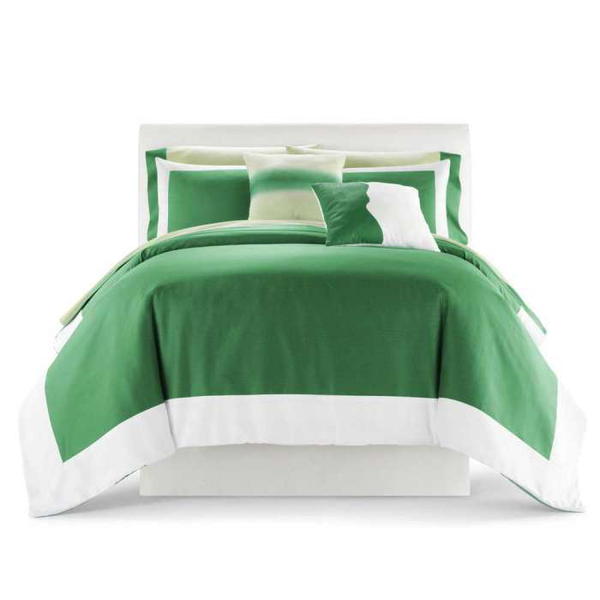 image of wholesale closeout green bedspread