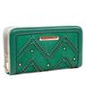image of liquidation wholesale green nicole lee wallet