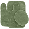 image of wholesale closeout green rug set