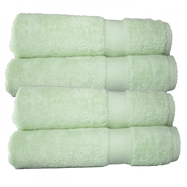 image of wholesale closeout green towel