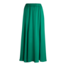 image of liquidation wholesale green womens maxi skirt