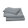 image of wholesale closeout grey cotton sheets