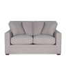 image of wholesale closeout grey loveseat